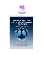 Sổ tay hướng dẫn xử trí và phòng trừ hen suyễn