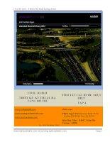 Civil3D 2012-THIẾT KẾ KỸ THUẬT HẠ TẦNG ĐÔ THỊ -TÓM TẮT CÁC BƯỚC THỰC HIỆN TẬP 4