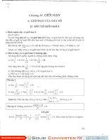 Giới hạn của hàm số - phần 2 - ViettelStudy