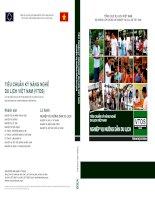 Tiêu chuẩn kỹ năng nghề du lịch Việt Nam - Nghiệp vụ hướng dẫn du lịch trình độ cơ bản