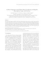 A Horn Fragment with PTime Data Complexity of Regular Description Logic with Inverse