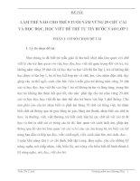 SKKN LÀM THẾ NÀO CHO TRẺ 5 TUỔI NẮM VỮNG 29 CHỮ CÁI VÀ HỌC ĐỌC, HỌC VIẾT ĐỂ TRẺ TỰ TIN BƯỚC VÀO LỚP 1