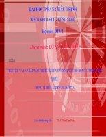 THIẾT KẾ VÀ LẮP RÁP MẠCH ĐIỀU KHIỂN ỔN ĐỊNH TỐC ĐỘ ĐỘNG CƠ ĐIỆN MỘT CHIỀU DÙNG VI ĐIỀU KHIỂN PIC16F877A