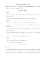 Bài tập làm văn số 1 lớp 7   đề 1
