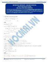Hệ phương trình Mũ, Logarit - Tài liệu  tự luyện Toán 12 - P1