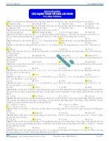 Các dạng toán cơ bản về Con lắc đơn - Tài liệu Trắc nghiệm Vật lý 12