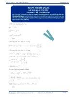 Phương trình mũ - Tài liệu tự luyện Toán 12 - P1