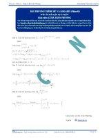 Bất phương trình Mũ và Logarit - Tài liệu tự luyện Toán 12 -P1