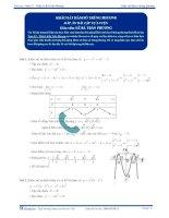 Khảo sát hàm số trùng phương - Tài liệu  tự luyện Toán 12
