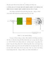 KHẢO sát ĐÁNH GIÁ CHẤT LƯỢNG và KIỂM NGHIỆM hệ điều KHIỂN VECTOR BIẾN tần  ĐỘNG cơ KHÔNG ĐỒNG bộ