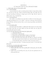 CÁC PHƯƠNG PHÁP TÍNH TOÁN CHẾ độ làm VIỆC của lưới PHÂN PHỐI