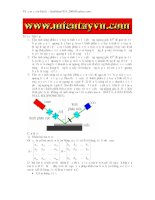 Kĩ thuật phân tích vật liệu rắn - Bài tập về ma trận Jones và vector Jones