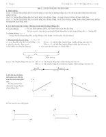 Bài tập chương 1 vật lí 10