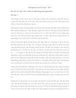 Bài tập làm văn số 1 lớp 7   đề 4