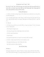 Bài tập làm văn số 1 lớp 7   đề 2