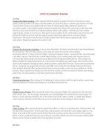 Tài Liệu Tiếng Anh Ngành May - Các Bước Thực Hiện Một Sản Phẩm May - Steps to Garment Making