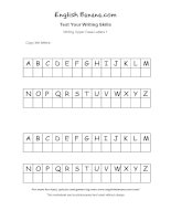 writing upper case letters 1 eg39
