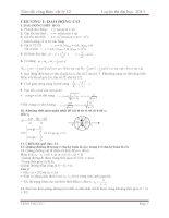 TÓM tắt CÔNG THỨC vật lý 12                     luyện thi đại học