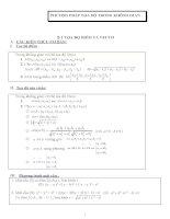 Chuyên đề: Hình học không gian luyện thi đại học, luyện thi quốc gia môn toán