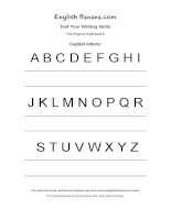 the english alphabet 2 eg28