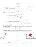 Bài tập vật lí lớp 10 chương 1 +2