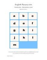 alphabet flashcards 1 eg1