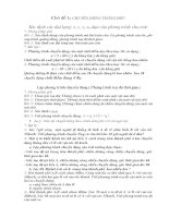 Giáo án phụ đạo vật lí 10