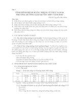 BÀI 3 TÌNH HÌNH BỆNH RĂNG MIỆNG ở VIỆT NAM  PHƯƠNG HƯỚNG GIẢI QUYẾT đến năm 2020, THS BS NGUYỄN hữu NHÂN
