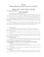 sáng kiến kinh nghiệm hướng dẫn phù đạo học sinh yếu lớp 5