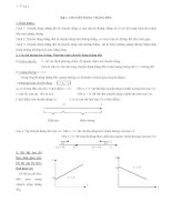 Bài tập vật lý lớp 10   chương 1
