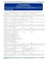 Đề thi thử đại học môn hóa 2016 (15)