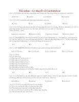 88 thi online   lý thuyết về cacbohiđrat