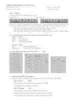 Đề thi và đáp án môn điều khiển lập trình nâng cao