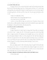 SKKN một vài KINH NGHIỆM dạy một TIẾT LUYỆN tập HOÁ học 9