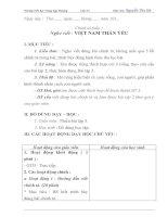 GIÁO án lớp 5 HOC kỳ i môn CHÍNH tả