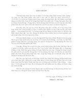 BÁO cáo THỰC địa năm 4 tại TRUNG tâm y tế dự PHÒNG, CHI cục AN TOÀN THỰC PHẨM hà NAM