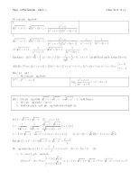 MỘT số bài TOÁN ỨNG DỤNG hàm số