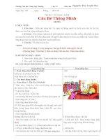 GIÁO án lớp 3 học kỳ i môn tập đọc