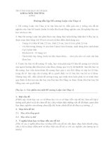 Hướng dẫn lập Đề cương Luận văn Thạc sĩ