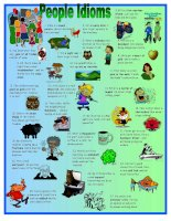 Mr bi idioms about people