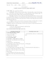 GIÁO án lớp 5 học kỳ II môn LỊCH sử