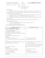 GIÁO án lớp 5 học kỳ II môn  LUYỆN từ và câu