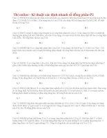 26 thi online   kĩ thuật xác định nhanh số đồng phân p2(1)