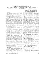 ĐÁNH GIÁ kết QUẢ điều TRỊ nội SOI CAN THIỆP cấp cứu XUẤT HUYẾT TIÊU HOÁ DO LOÉT dạ dày   HÀNH tá TRÀNG