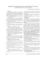 NGHIÊN cứu CHẨN đoán và xử TRÍ CHỬA NGOÀI tử CUNG tại BỆNH VIỆN PHỤ sản THANH hóa