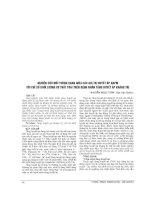 NGHIÊN cứu mối TƯƠNG QUAN GIỮA các GIÁ TRỊ HUYẾT áp ABPM với CHỈ số KHỐI LƯỢNG cơ THẤT TRÁI TRÊN BỆNH NHÂN TĂNG HUYẾT áp KHÁNG TRỊ