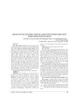 ĐÁNH GIÁ kết QUẢ điều TRỊ rối LOẠN THÁI DƯƠNG hàm dưới BẰNG MÁNG NHAI ổn ĐỊNH