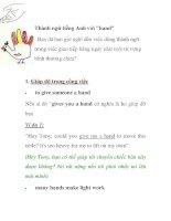 Thành ngữ trong tiếng anh và cách dùng (4)