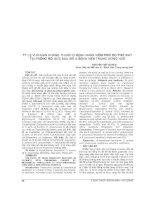 TỶ lệ VI KHUẨN KHÁNG THUỐC ở BỆNH NHÂN VIÊM PHỔI DO THỞ máy tại PHÒNG hồi sức SAU mổ a BỆNH VIỆN TRUNG ƯƠNG HUẾ