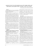 NGHIÊN cứu sự THAY đổi NỒNG độ HS CRP ở BỆNH NHÂN CAN THIỆP MẠCH VÀNH BẰNG STENT THƯỜNG, STENT PHỦ THUỐC